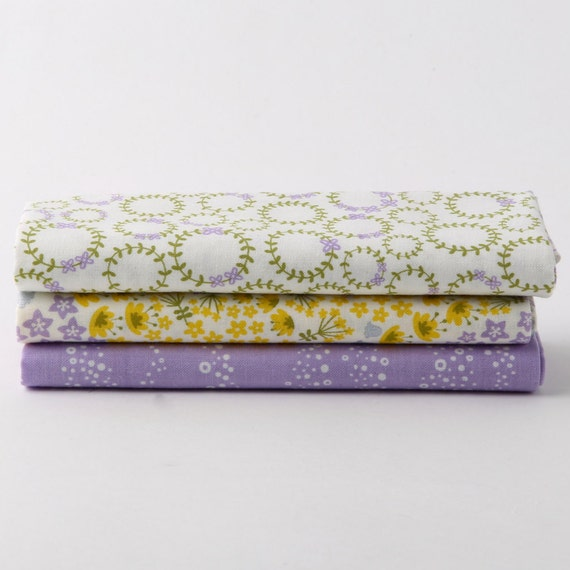 Cotton Fabric - Wildflower- Fat quarter bundle