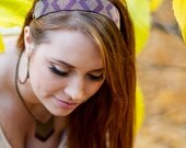 Tribal Design Beaded Boho Headband