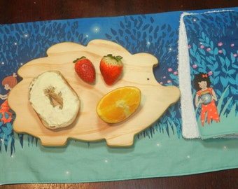 Hedgehog Breakfast Board