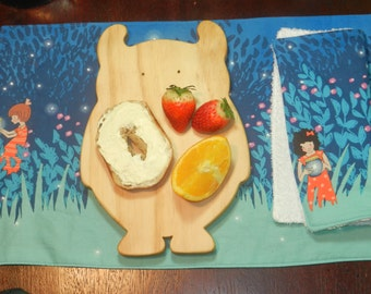 Owl Breakfast Board