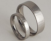 Wedding Bands , Titanium Rings , Promise Rings , Aphrodite and Apollo Bands with Comfort Fit Interiors