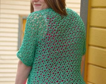 Adult Shrug Crochet Pattern (Pattern Only)