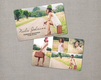 "100 Senior Graduation Rep Trading Card - the ""Nadia"""