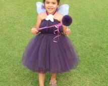 Vidia Inspired Fairy Halloween Costume - Size Newborn to 5T