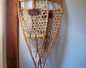 Early L.L. Bean Snowshoes - The Maine Snow-shoe - 14 x 48