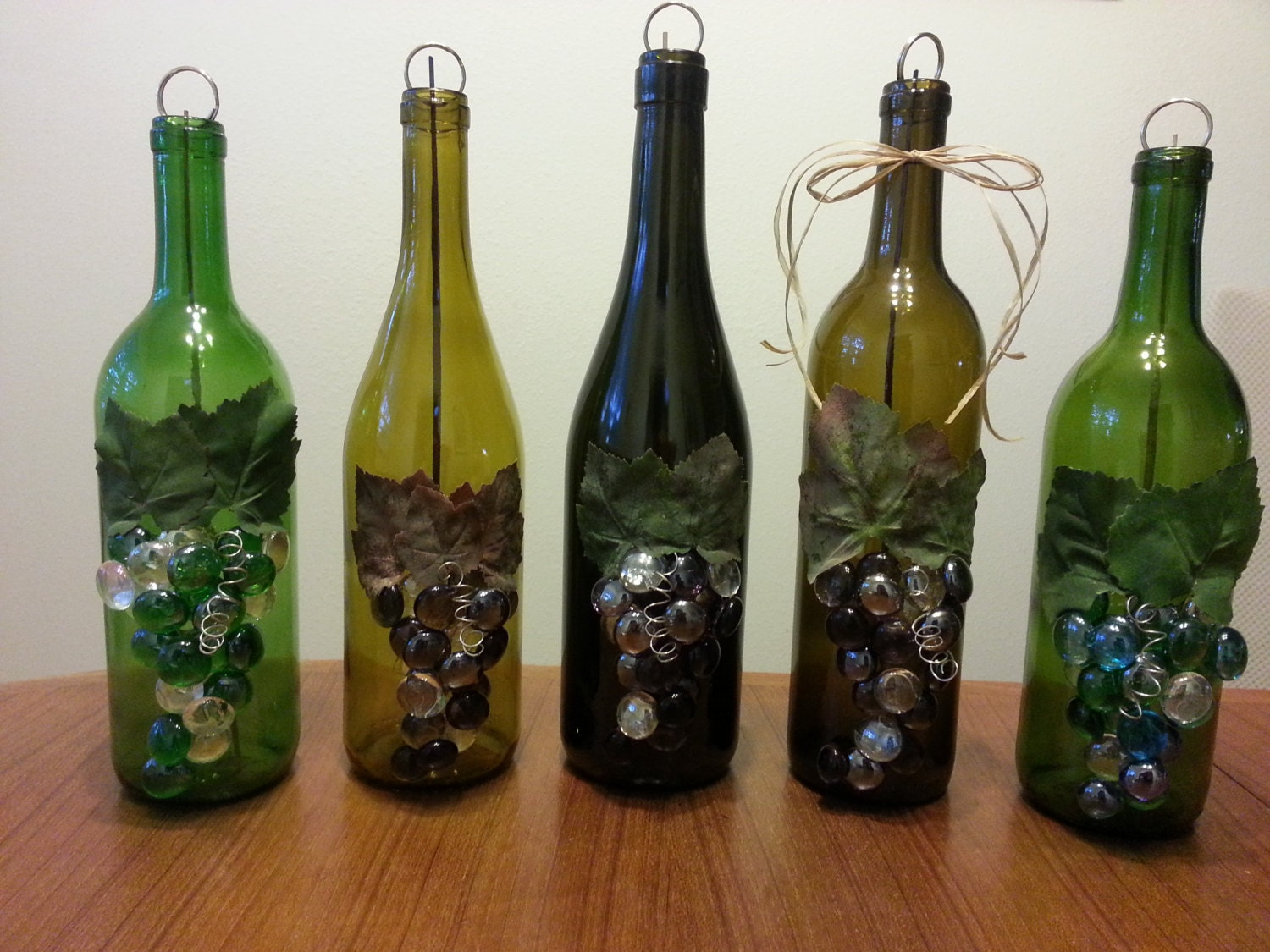 upcycled wine bottle incense burner clean way to burn
