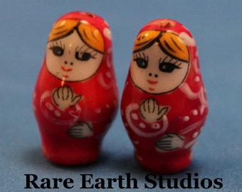 Matryoshka Doll Beads 60115011