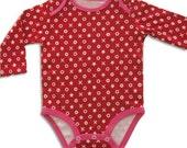 SALE - Valentines Day Baby Girl Onesie, XOXO, Valentine's Day Bodysuit, 1st Valentine