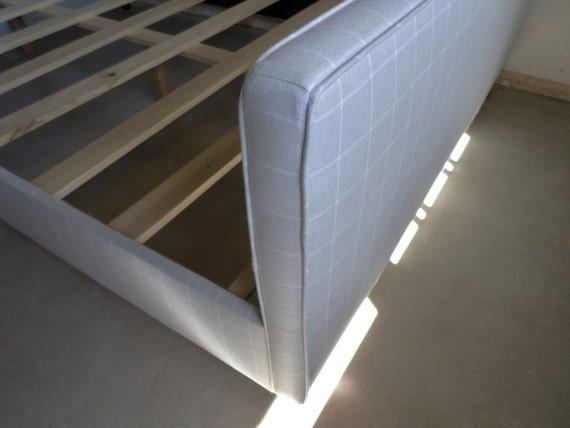 Custom Upholstered QUEEN Bed Frame - Design Your Own