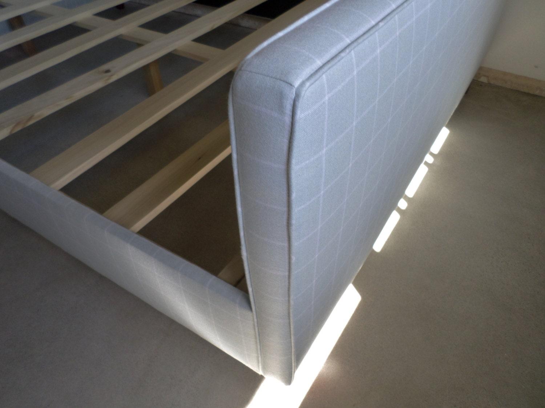 Custom Upholstered QUEEN Bed Frame Design Your Own