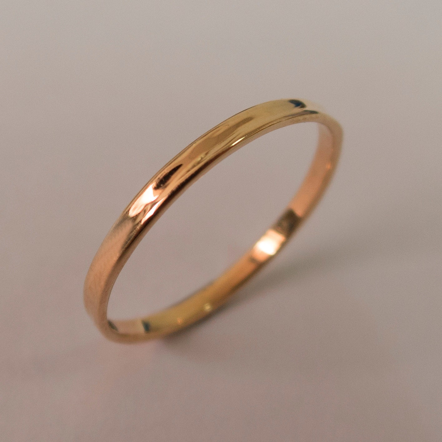 simple gold wedding band 14k rose gold ring rose gold. Black Bedroom Furniture Sets. Home Design Ideas