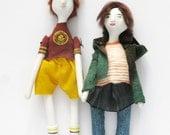 Art Dolls Juno and Paulie // Jason Reitman // Juno // 2007 // Cinema Icons Serie
