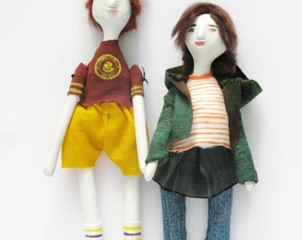 Art Dolls Juno and Paulie // Jason Reitman // Juno // 2007 // Cinema Icons Serie