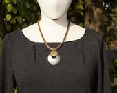 Marjorie Baer Forged Modern Necklace