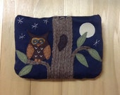 Night Owl, Large Pouch