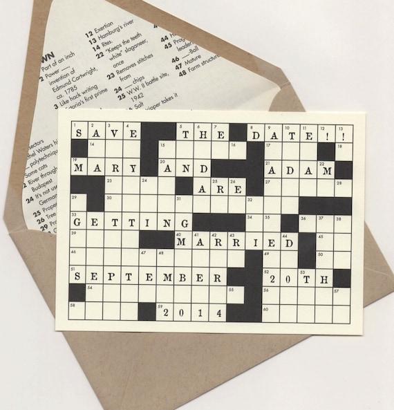 To date crossword