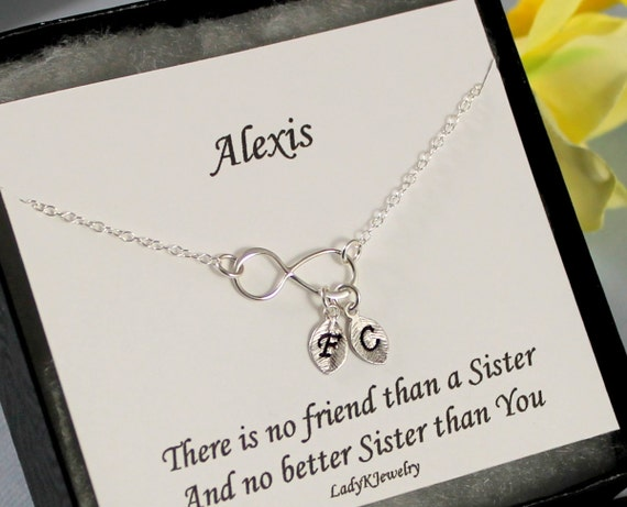 Wedding Gift For Twin Sister : ... , Sterling Silver Infinity Bracelet, Sister Jewelry Twin Sister Gift