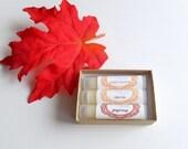 Lip Balm Gift Set of 3 Lip Balms - Your Choice of Flavors Stocking Stuffer