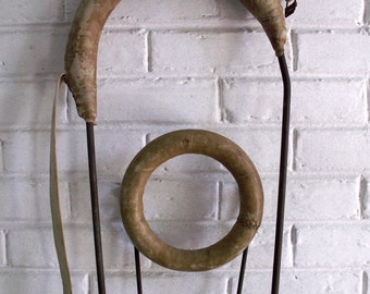 Pair of Vintage Horse Cruppers - Equestrian Decor