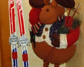 70s JARVINEN Cross Country Nordic Forrest Skis, Window Curtain Rod Decor Display Childrens 75mm