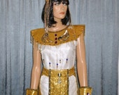 Walk Like an EGYPTIAN Princess - Embellished - Cleopatra  - EGYPTIAN Princess - Halloween - Stage - Play - Costume - one size fits most