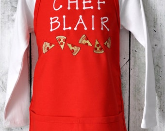 Pizza Apron for Kids