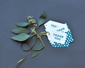 SALE Thank You Gift Tags, set of 12