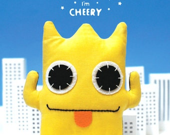 SALE 60% Off - Pattern and Instruction Booklet - PUPUMON Cheery