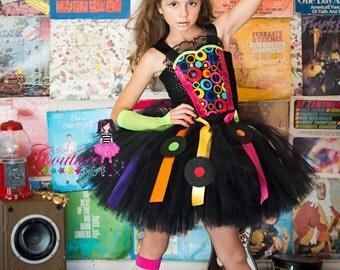 80's inspired tutu dress or disco costume