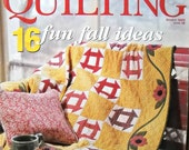 American Patchwork and Quilting, October 2002, Issue 58