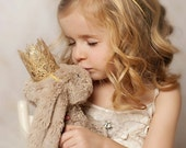 Ready to Ship ||Dolly and Me || Sienna gold lace crown set || American Girl 18 inch doll || pet crown