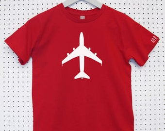 Aeroplane Child's Organic Cotton T Shirt
