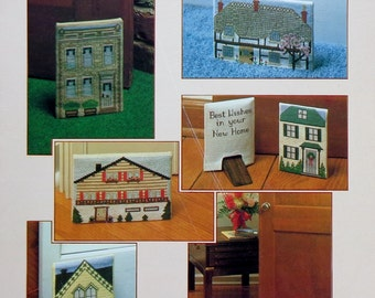 June Grigg Designs DOWN HOME DOORSTOPS - Counted Cross Stitch Pattern Chart