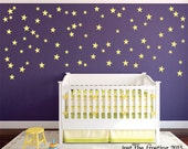 Star Wall Decals Set of 105 - Confetti Star Pattern Decals