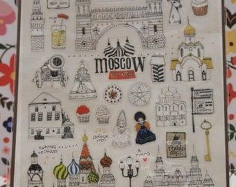 Suatelier Moscow Sticker (1 Sheet)