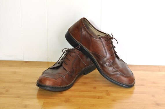 mens shoes vintage finn comfort size 11 lace up casuals. Black Bedroom Furniture Sets. Home Design Ideas