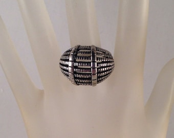 Vintage Antique Silver Ring Adjustable Fits all Sizes Previously Fifteen Dollars ON SALE