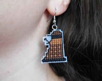 Doctor Who Earrings - Daleks