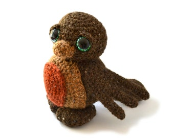 Amigurumi Crochet Patterns Free Doll : Crochet Amigurumi Pattern Robin Bird PDF Ebook