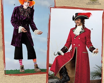 SIMPLICITY PATTERN 2333 – Mad Hatter or Captain Hook