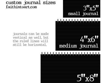 Custom Journals - Add Your Own Artwork