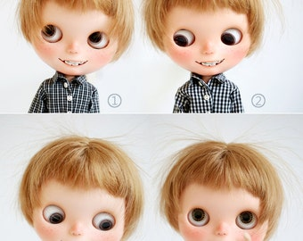 Miss yo checker inner shirt for Blythe doll - doll outfit - 5 colors in