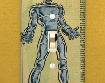 Ultron - Super Villain Light Switch Plate