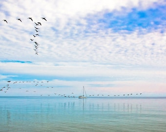 Serenity at Hanlan's Point Beach, Toronto Ontario - 2014 finalist in the Toronto Waterfront Photography Contest.