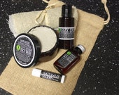 Boyfriend Gift, Husband Gift, Gift for Men, Gifts for Dad / Christmas Delivery Order by Dec 18 Priority Mail, Guy's Skin Care Gift Set