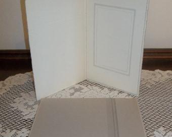 "1 Vintage Bi-Fold Folding Picture Frame 4"" x 6"" Photo"