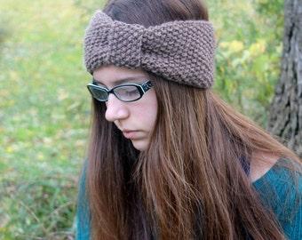 Knitting PATTERN - Headband Knitting Patterns - Knit Headband Pattern - Knit Ear Warmer Pattern - Toddler, Child, Adult Sizes - PDF 385