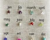 Gemstone Birthstone Charms . Add A Birthstone . Shay Designs