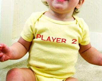 Player 2 Baby Onesie
