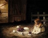 The Hatching - Fantasy Art PRINT